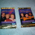 Star Trek VOYAGER Skybox Card Packs (2) MIP