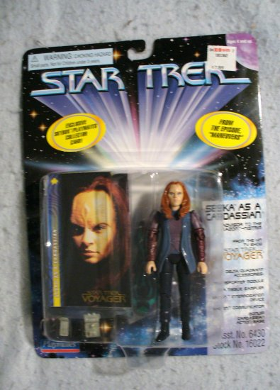 Star Trek Seska as a Cardassian Playmates  MOC
