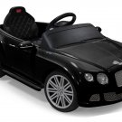 RASTAR Bentley GTC 2-In-1 Ride On Toy ABS Play Car Black
