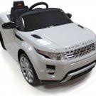 RASTAR Land Rover Evoque Car Ride-On Toy 12V REMOTE CONTROL White