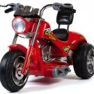 Red Hawk Single Seater 12V Ride-On Motorcycle by Mini Motos
