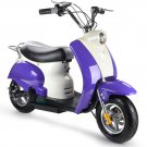 Electric Moped by MOTOTEC Purple & White Ages 13+