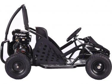 Black Go-Kart 79cc Gas Powered Ages 13+ Powersports