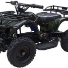 Mini Quad ATV 24v Green Camo Battery Powered Powersports