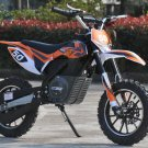 ELECTRIC 24V DIRT BIKE ORANGE BY MOTOTEC RIDE ON TOY AGES 13+