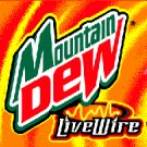 Live Wire Mountain Dew  24  fresh cans soda mtn dew livewire