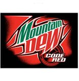 Code Red Mountain Dew soda 24 cans