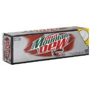 Diet Code Red Mountain Dew  soda 24 cans Hard to Find flavor  soda water pop carbonated beverage
