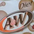 Diet A & W Root Beer Soda rootbeer sugar free American classic 24 cans