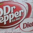 Diet Dr Pepper 24 full cans fresh worldwide shipping
