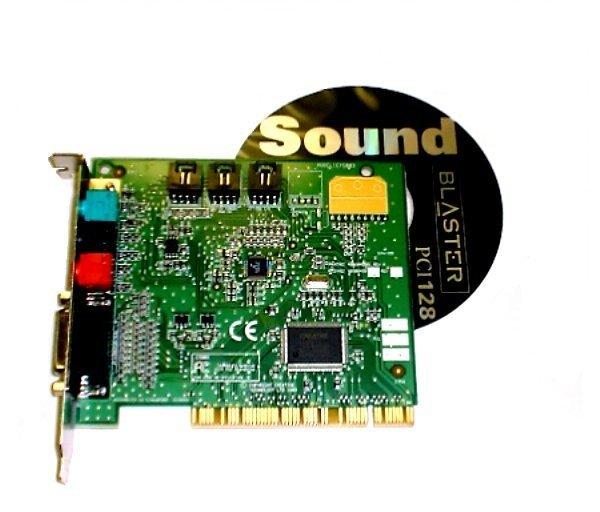 SOUND BLASTER PCI 128BIT