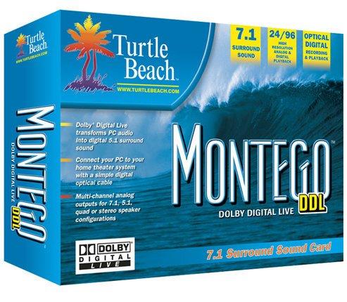 TURTLE BEACH MONTEGO 7.1 PCI