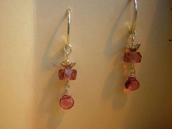 Vintage Pink Beads & Pink Tourmalines
