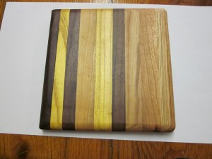 butcher block cutting board- small