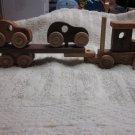 wood car carrier truck