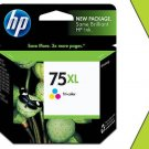 Genuine New HP 75XL CB338WN Tri-Color Ink High-Yield