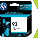 Genuine New HP 93 C9361WN Tri-Color Ink Cart GRTD