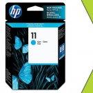 Genuine New HP 11 C4836AN Cyan Ink Cartridge GRTD