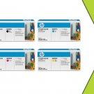 NIB HP Q6000A Q6001A Q6002A Q6003A Multi-Combo Toner