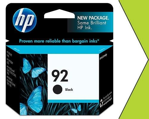 Genuine New HP 92 C9362WN Black Ink Cartridge GRTD