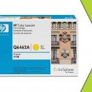 NIB OEM HP Q6462A Yellow Toner Cartridge 100% GRTD