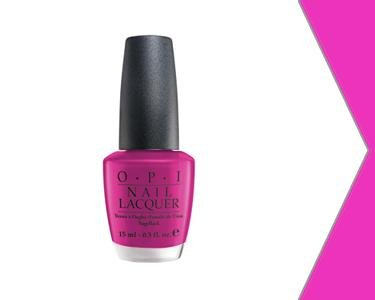 New OPI NLE46 Ate Berries In The Canaries Nail Polish