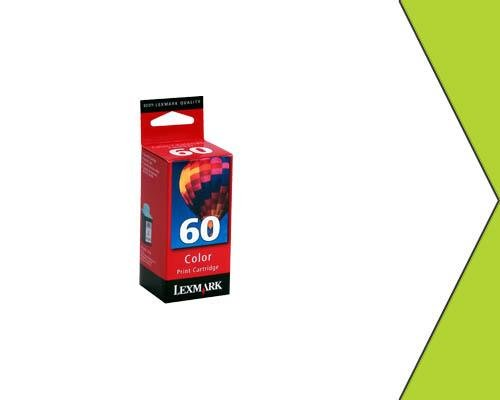New OEM Lexmark  60 17G0060 Color Ink Cartridge Non-EXP