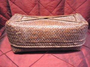 Burmese tribal basket