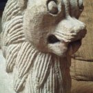 India  Hindu  sandstone carved Lion Sculpture (UPS PACK SHIP)
