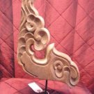 Japanese 19th c wood architectural fragment
