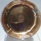 Jean Puiforcat French sterling silver Vermeil ash tray or ?