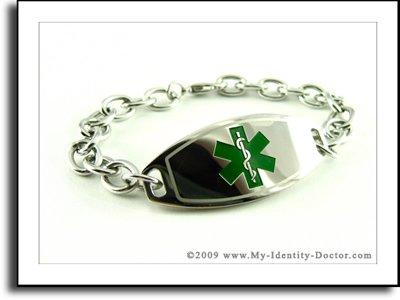 ENGRAVED, Girls, Kids, Medical Identification Bracelet