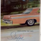 * 1963 OLDSMOBILE STARFIRE PHOTO PRINT AD 2-PAGE