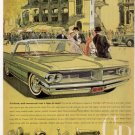 * 1962 PONTIAC GRAND PRIX PHOTO PRINT CAR AD
