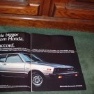 1976 1977 HONDA CIVIC VINTAGE CAR AD 3-PAGE