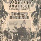 SMOKEY ROBINSON FAMILY ROBINSON PROMO AD 1976