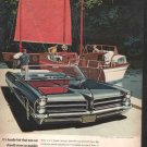 * 1965 PONTIAC BONNEVILLE PHOTO PRINT AD