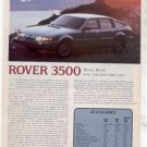 1980 ROVER 3500 ROAD TEST AD 4-PAGE