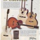 WASHBURN FESTIVAL GUITAR AD EA36 EA220 EA10 EA20 1996