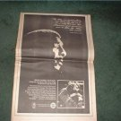 1972 RICHIE HAVENS ON STAGE POSTER TYPE AD
