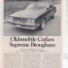 1980 1981 OLDSMOBILE CUTLASS SUPREME BROUGHAM ROAD TEST