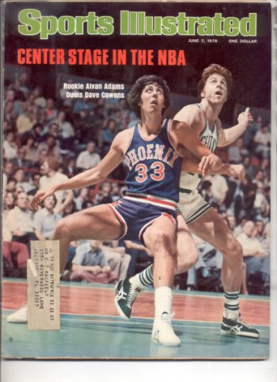 * 1976 SPORTS ILLUSTRATED ALVAN ADAMS DAVE COWENS