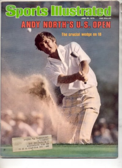 * 1978 SPORTS ILLUSTRATED ANDY NORTH US OPEN