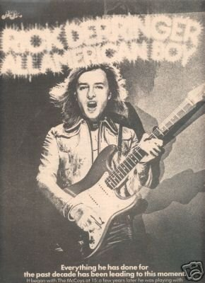 RICK DERRINGER ALL AMERICAN BOY PROMO AD 1973