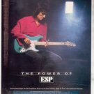 * 1993 THE ROLLING STONES RONNIE WOOD ESP GUITAR AD