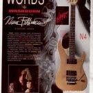 1991 NUNO BETTENCOURT WASHBURN SIGNATURE GUITAR AD
