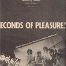 1980 ROCKPILE SECONDS OF PLEASURE POSTER TYPE AD