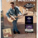 * LARRY CRANE BLACK DIAMOND GUITAR STRINGS AD
