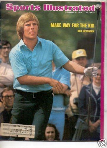 1974 SPORTS ILLUSTRATED BEN CRENSHAW GOLF