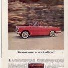 * 1962 TRIUMPH 1200 PHOTO PRINT AD